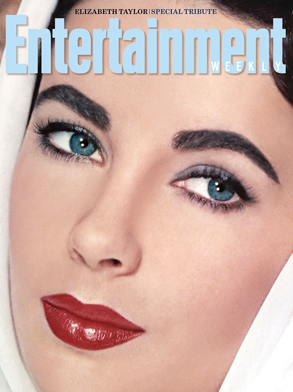 That perfect blend of blue & indigo that created Elizabeth Taylor's violet eyes.