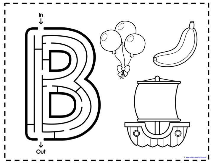 The 25+ best Letter b worksheets ideas on Pinterest