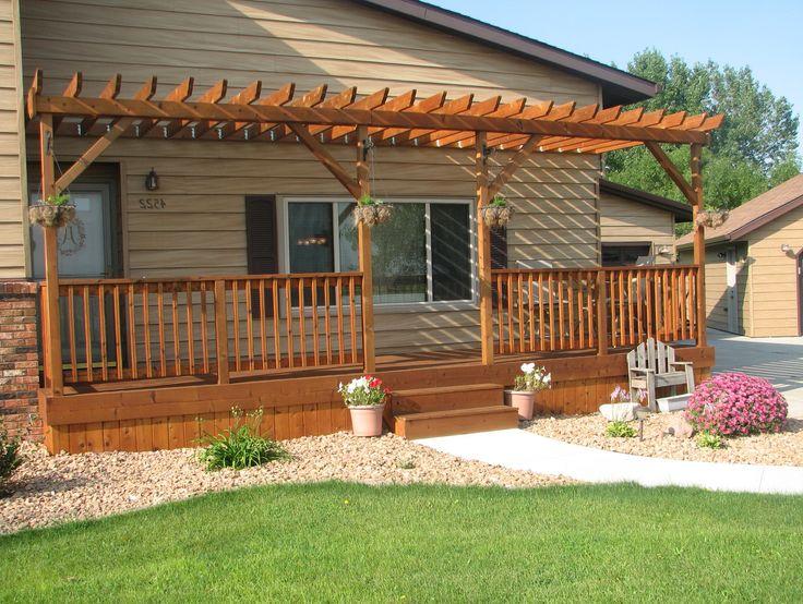 front+porch+with+pergola | Front Porch Pergola - Porche Designs - Decorating