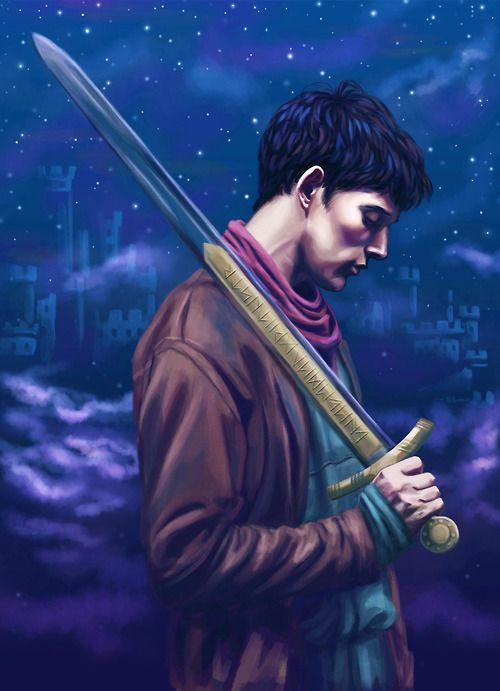 "excalibee:  ""in a land of myth, and a time of magic…""  thank you, merlin. for everything."
