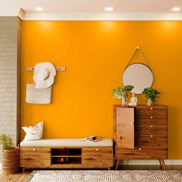 Try Orange Appeal House Paint Colour Shades For Walls Asian Paints Interior Wall Colors Asian Paints Colours Asian Paints Colour Shades