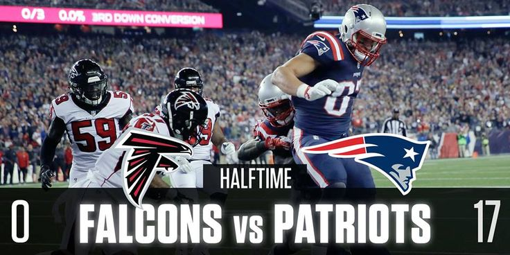 The New England Patriots have scored 48 unanswered points vs the Atlanta Falcons.
