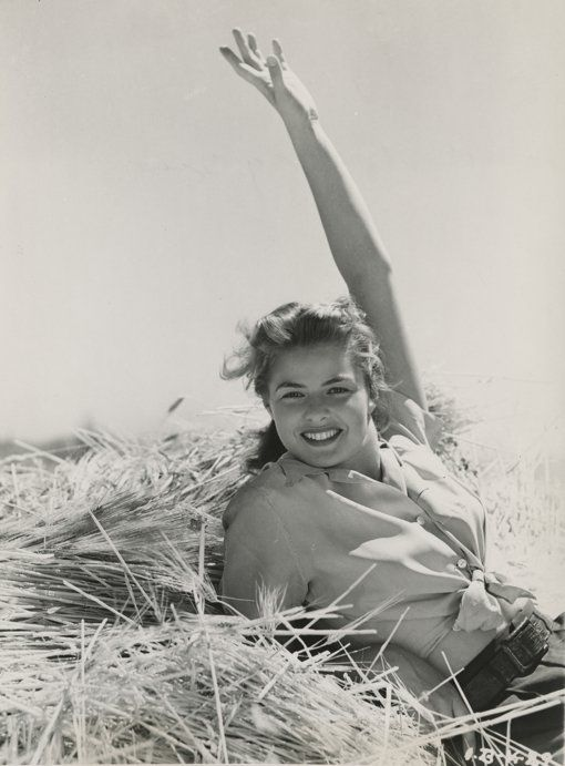 """I was the shyest human ever invented, but I had a lion inside me that wouldn't shut up!"" Ingrid Bergman"