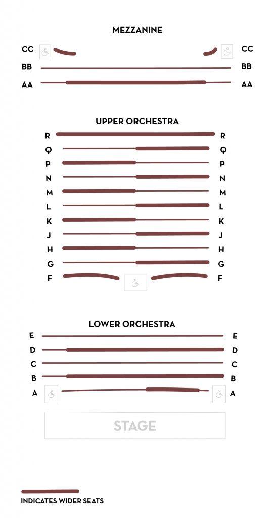 Tivoli Theatre Seating Chart