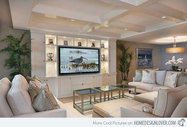 15 Adorable Contemporary Family Rooms | Home Design Lover