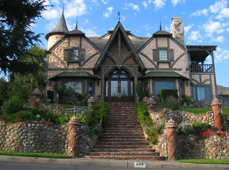 Storybook style homes