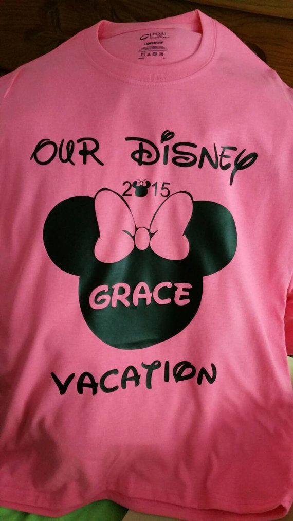 Custom Disney Family Vacation Shirts 2015 by WeSellShirts on Etsy