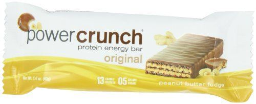 Power Crunch Protein Energy, Peanut Butter Fudge Butter Fudge, 1.4-Ounce Bar (Pack of 12) //Price: $15.99 & FREE Shipping //     #hashtag1