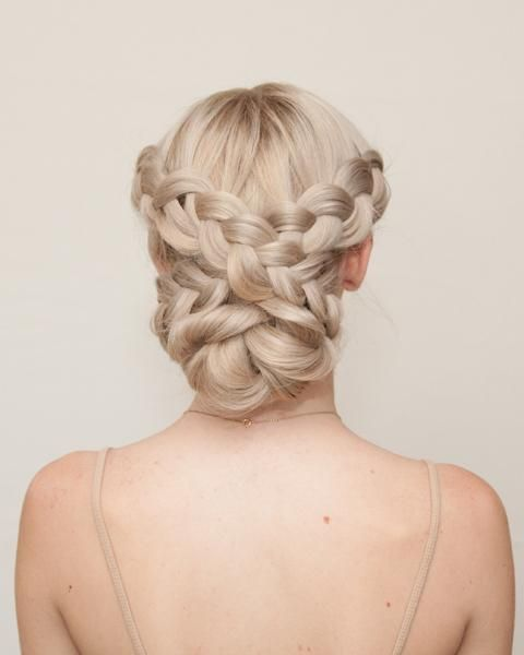 Tremendous 1000 Ideas About Braided Updo On Pinterest Braids Braided Short Hairstyles Gunalazisus