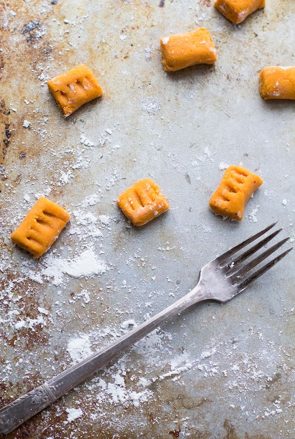 5 Ingredient Gluten-Free Sweet Potato Gnocchi (vegan too!)