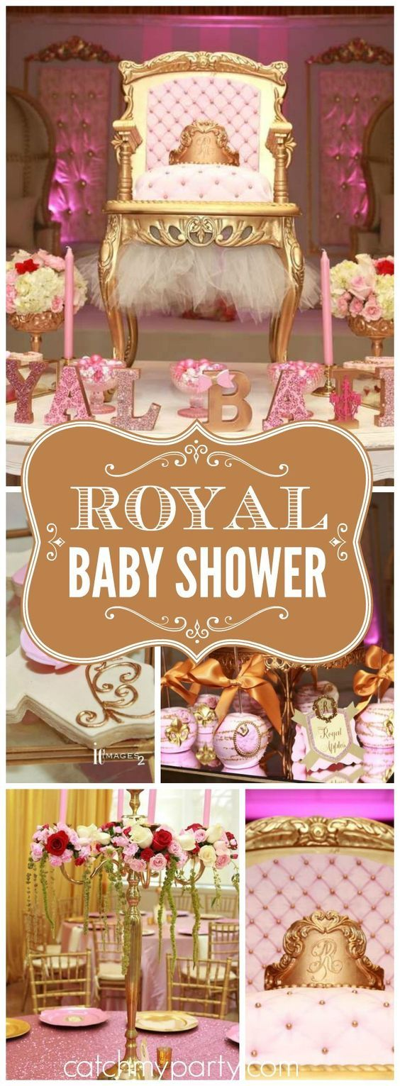 Such a gorgeous royal princess girl birthday party! See more party ideas at CatchMyParty.com!