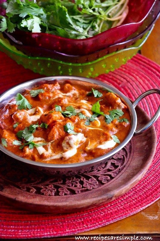 Delicious and Authentic method of preparing Indian Butter Chicken (Murgh Makhani) just like they do it in DELHI! WITH VIDEO.
