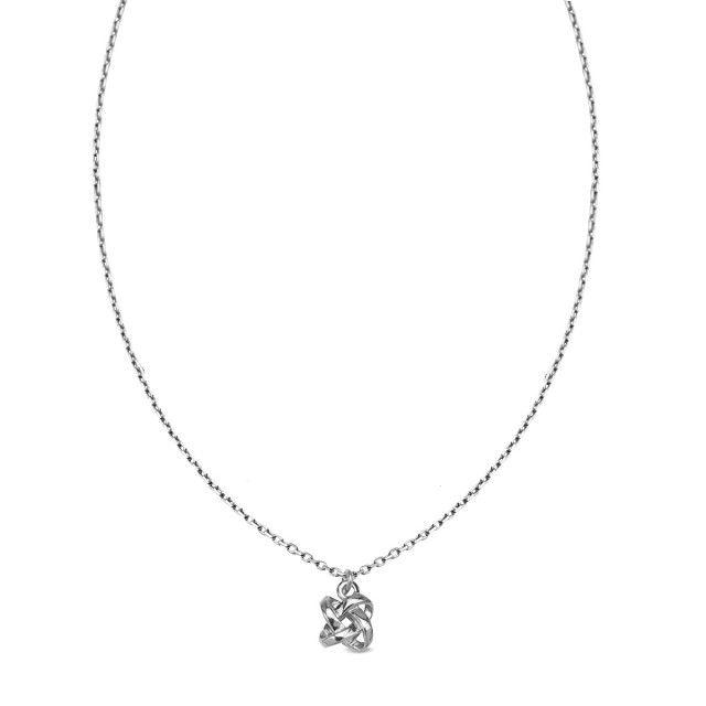 Unique - srebrny naszyjnik