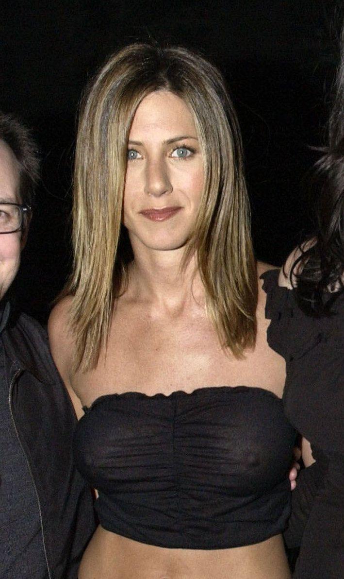 See Celebrities Wearing Her: Jennifer Aniston See Through
