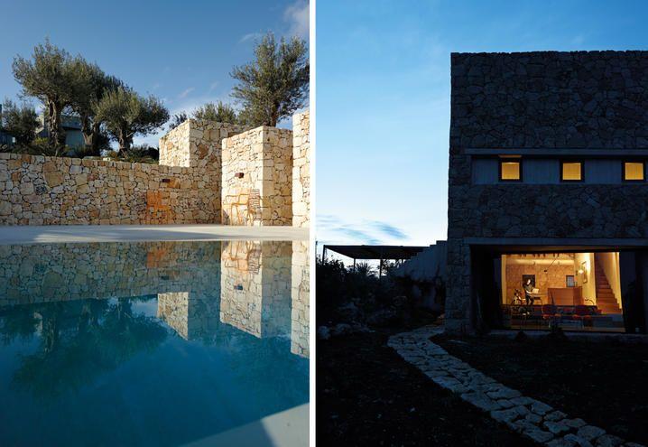Una casa immersa nel paesaggio siciliano per due creativi inglesi