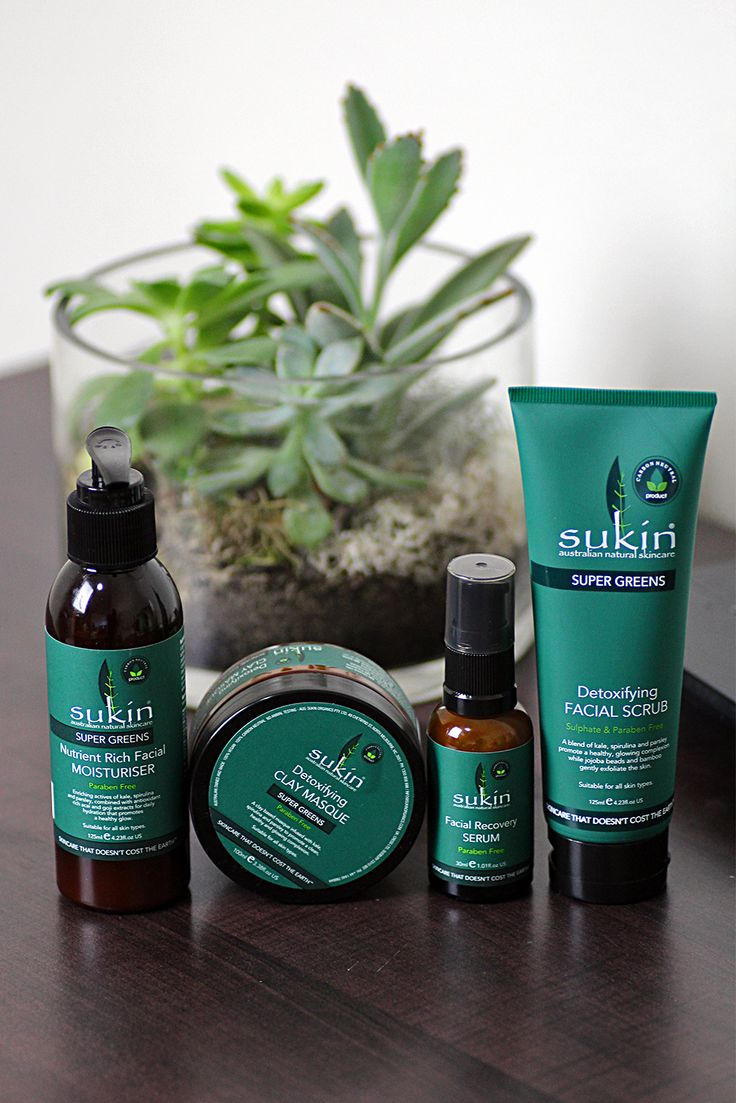 Sukin Super Greens // healthy skincare, Australian made & owned