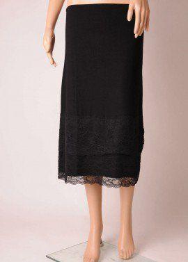 3/4 Length Lace Hem Skirt Extender