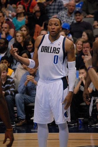 Dallas Mavericks Shawn Marion in February 2013.