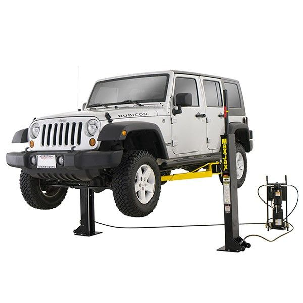 Dannmar MaxJax Portable 6,000 LB 2-Post Car Lift
