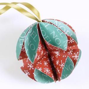 Ideias de Enfeites de Natal para Fazer com Papel                                                                                                                                                                                 Mais