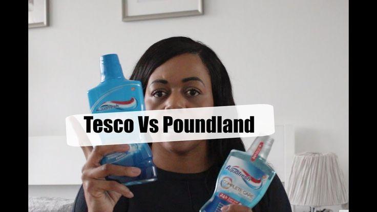 Tesco Vs Poundland Comparison