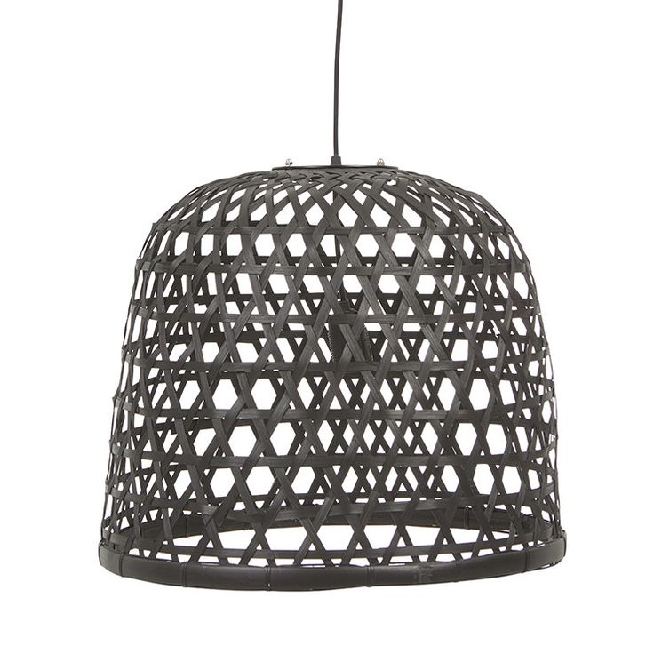 GlobeWest - Airlie woven rattan ceiling pendant