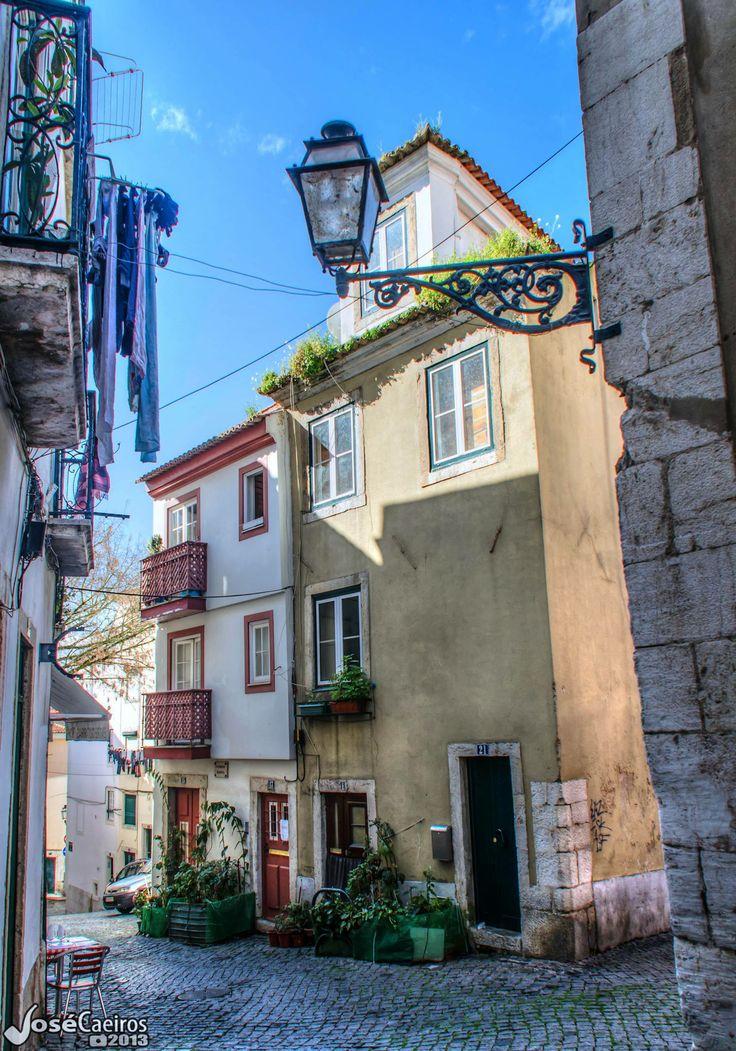 A velha Alfama. Lisboa