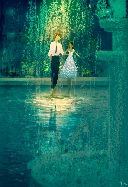 Pascal Campion - love this style. It relies on color and light. Gorgeous.