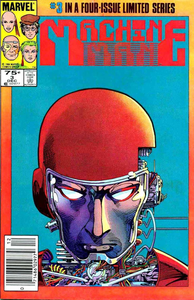 Barry Windsor-Smith Machine Man for more cool stuff, check out: adamantiumclaws.com #machineman #barrywindsorsmith #barrysmith #coolcomiccovers #bestcomicart