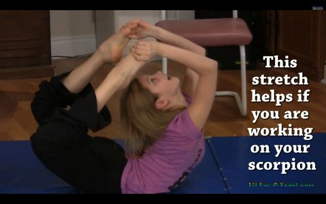 Scorpion Stretch