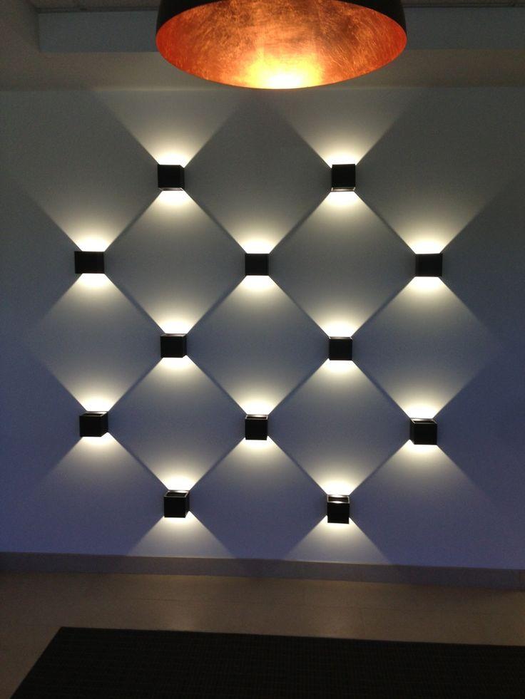 Amazing lines of light created using Prolicht Dice. #lightingdesign