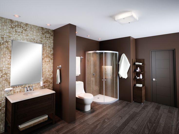 Dale un estilo moderno a tu baño.