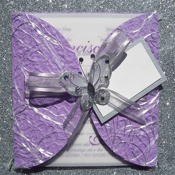 Ref Kgaogelo Purple PPL 18 ( we can do any colour) www.weddingcards.co.za