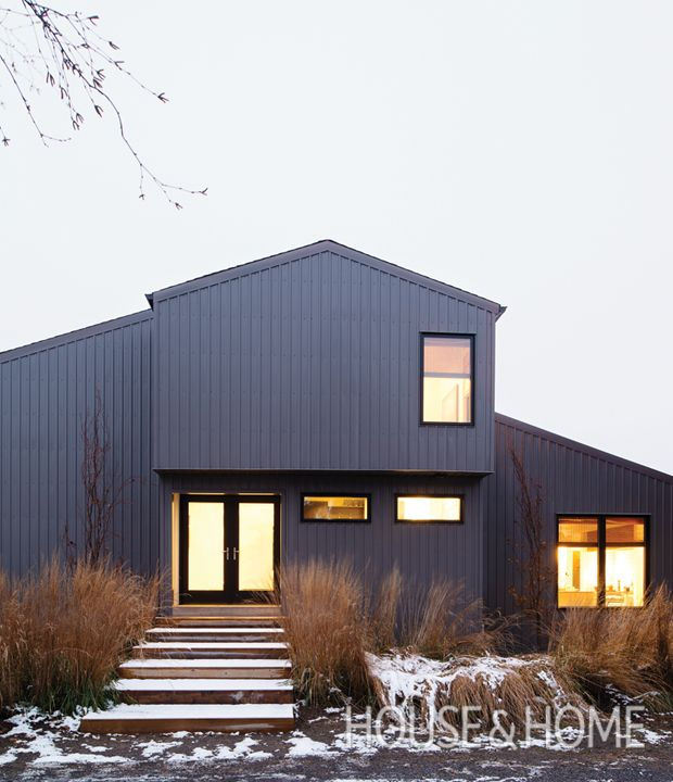 Modern Gray Exterior With Steel Beams: 321 Best Images About Cottage Decorating & Design Ideas On