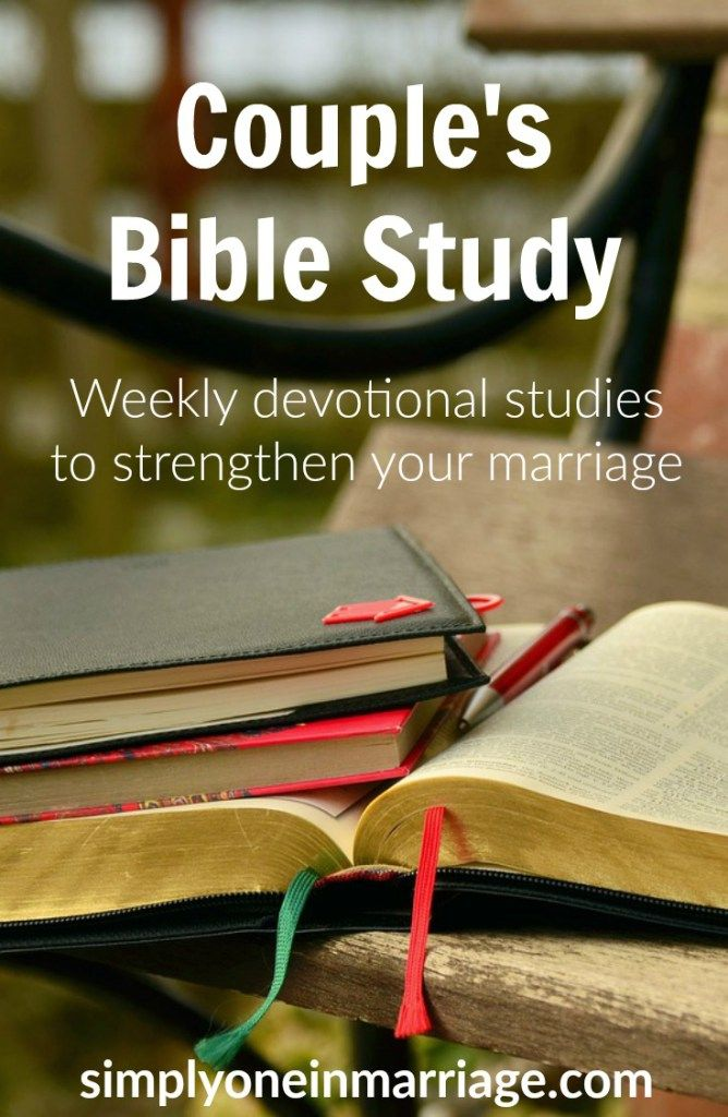 These weekly devotional Bible studies for couples include discussion questions. They are designed to help you strengthen your marriage as you seek God together and grow in oneness. | Simply One in Marriage.