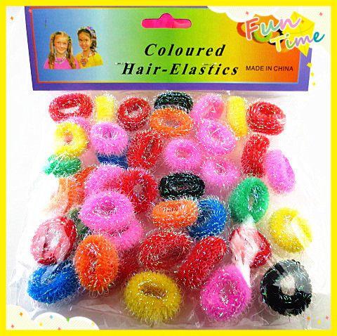 45 teile/los Bunte Kind Kinder Haar-halter Niedlich Gummibänder Haare Gummibänder Zubehör Reizenden mädchens Charme Krawatte Gum