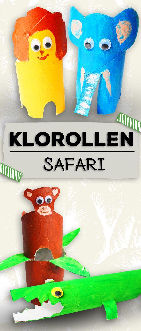 Basteln Mit Klorollen Lustige Tiere Animals Craft Animal Crafts