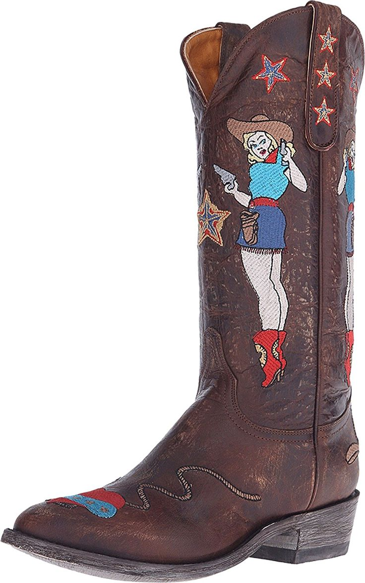 Old Gringo Women's Cowgirl Guns ** See this awesome image  : Cowgirl boots