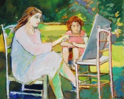 Ximena Cristi  Pintora Chilena