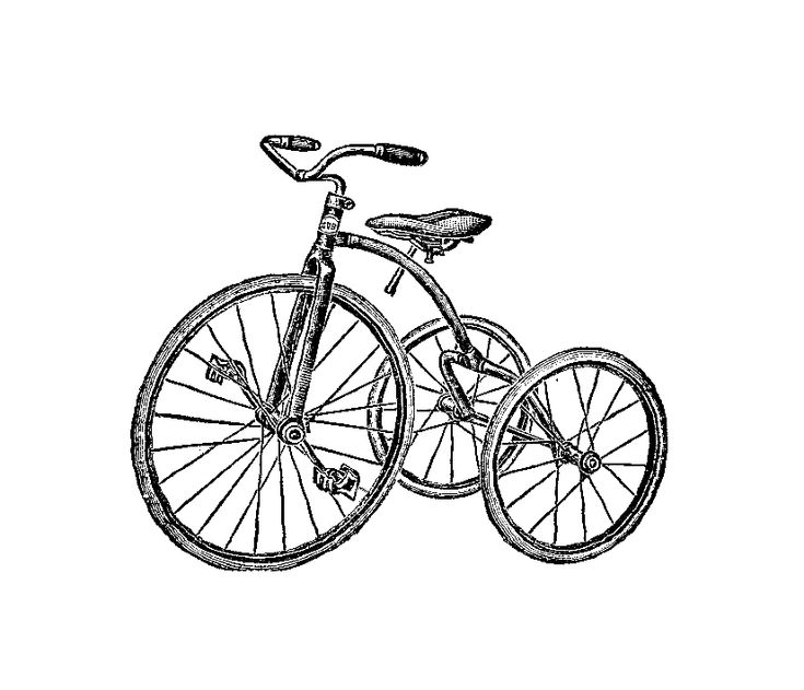 tricycle drawing - Google Search