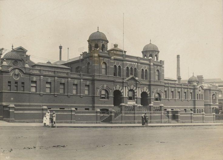 Melbourne City Baths 1914