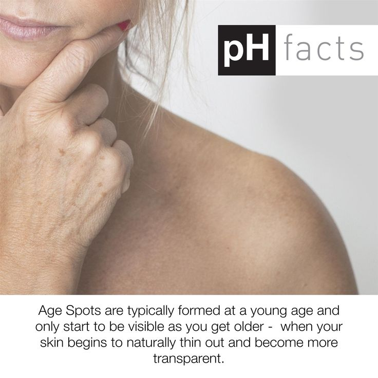 pH skin fact of the week!  #agespots  #advancedskincare #ageing