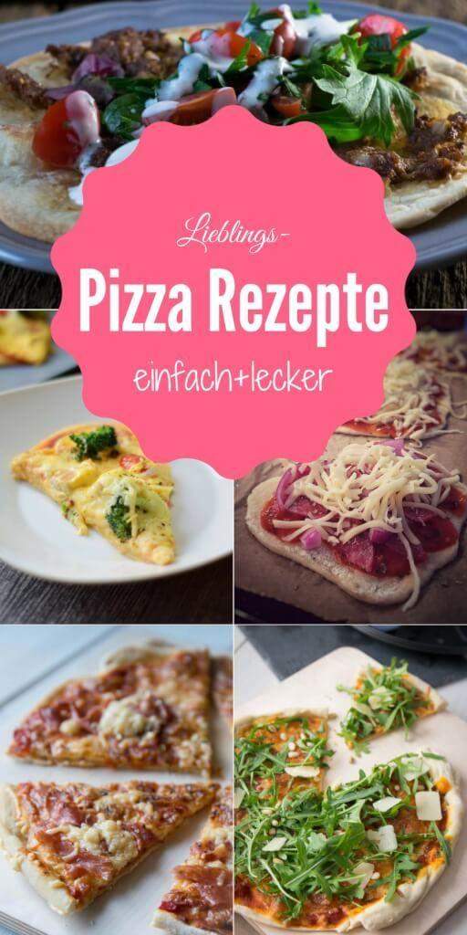 Pizza selber machen ist toll Alle lieben Pizza! Ob Fladenbrotpizza oder Hefeteig mit Dinkelmehl, Pizza ist so großartig und ganz einfach selbst zu backen. #pizza #foodporn #hefeteig #pizzarezepte