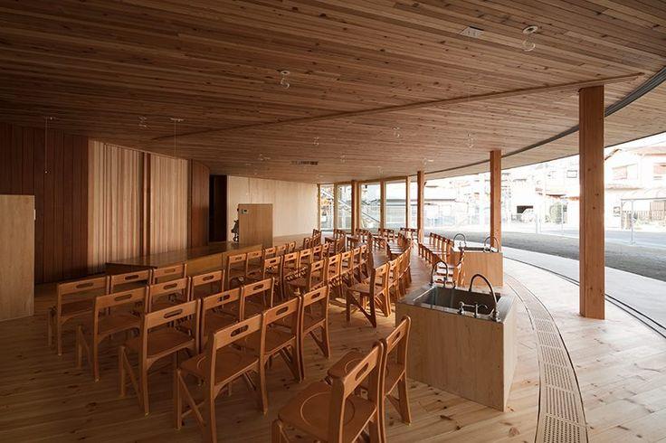 tezuka architects' circular building is both a kindergarten and chapel