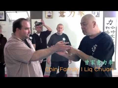 I Liq Chuan - Blocking Punches. Anticipating without anticipating the next punch (曾家意力拳) - YouTube