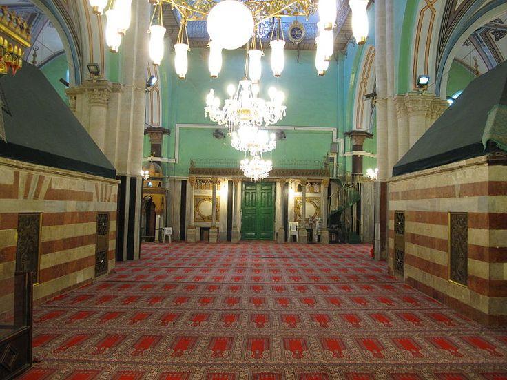 vnútri mešity