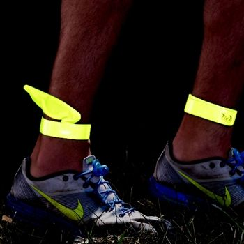 Stay safe at night with our Fly-By reflective running wraps. Our reflective slap wraps feature very bright reflective material to keep you s...