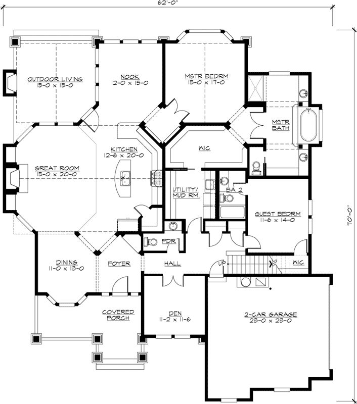 100 cottage style homes plans top single story Best empty nester house plans