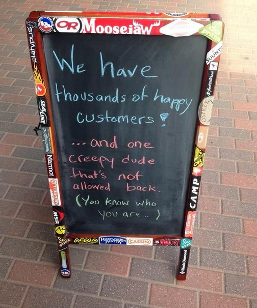20 Funny Sidewalk Signs | Pleated-Jeans.com