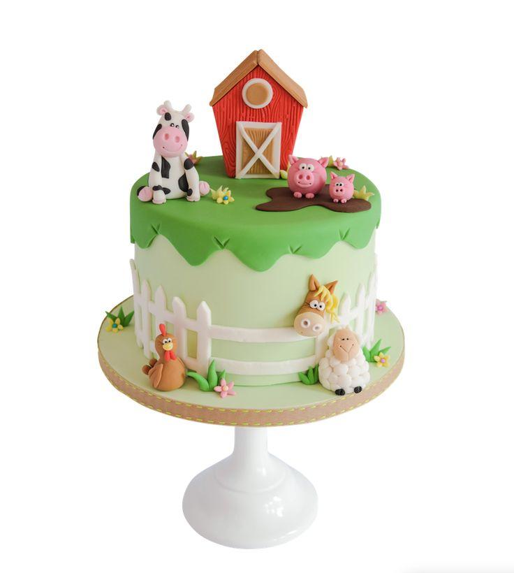 farmyard cake tutorial cake masters magazine